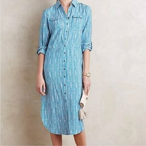 ANTHROPOLOGIE | MAEVE | Jemima Shirt Dress 8